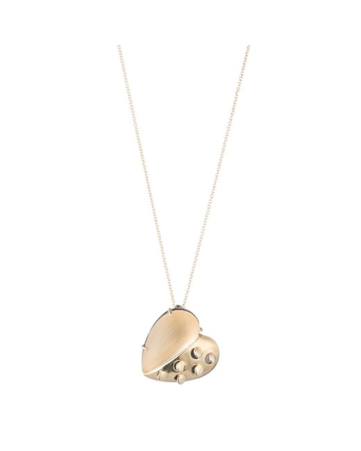Alexis Bittar - Metallic Petite Grater Heart Pendant Necklace You Might Also Like - Lyst