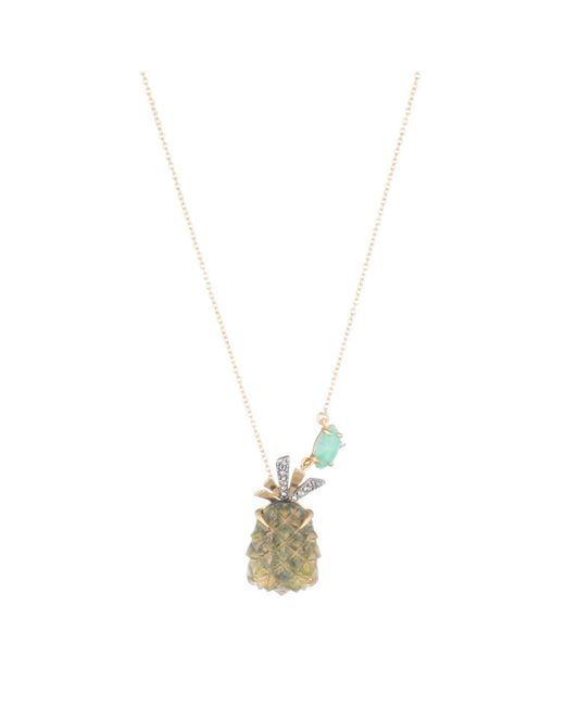 Alexis Bittar - Multicolor Pineapple Pendant Necklace You Might Also Like - Lyst