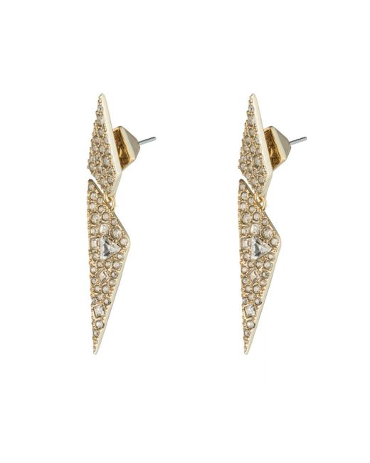 Alexis Bittar   Multicolor Crystal Encrusted Origami Earring You Might Also Like   Lyst