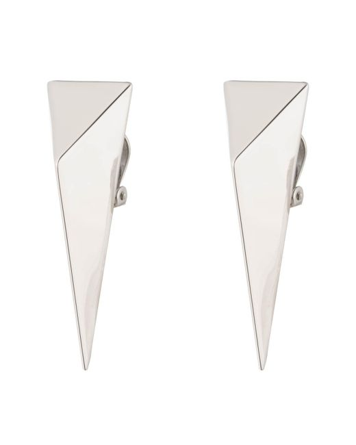 Alexis Bittar - White Extra Large Pyramid Clip Earring You Might Also Like - Lyst