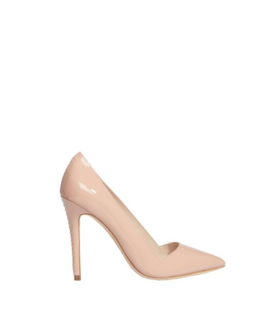 Alice + Olivia | Pink Rose Tan Dina Patent Heel | Lyst