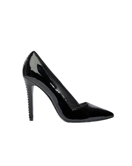 Alice + Olivia | Black Dina Patent Heel | Lyst