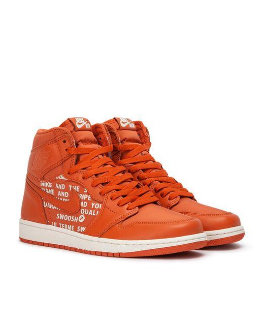 f01abd7a8ab34a ... Nike - Orange Air Jordan 1 Retro High Og for Men - Lyst ...