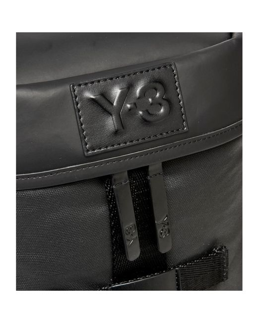 Y-3 - Black Icon Backpack Small for Men - Lyst