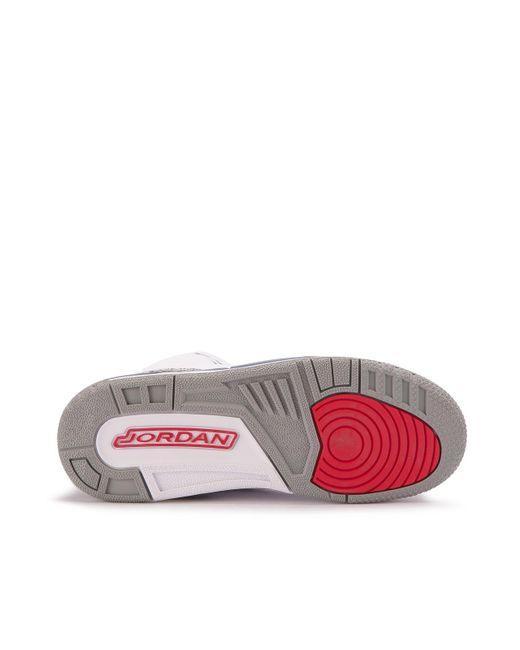 5b8d1ca18e2 ... Nike - White Air Jordan 3 Retro Og Bg for Men - Lyst ...