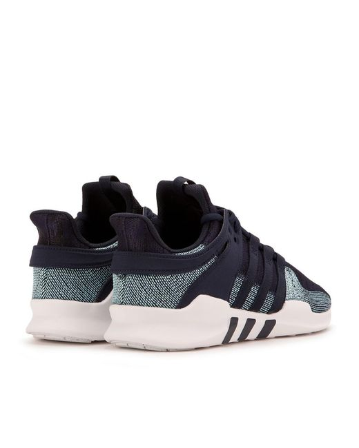 hot sale online 0cdf7 53532 ... Adidas - Blue Eqt Support Adv Ck X Parley for Men - Lyst ...