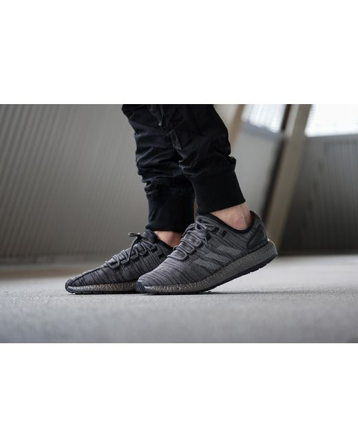 4eb8ad3e1322d ... low cost adidas pure boost all terrain triple black for men lyst d882a  cc02a ...