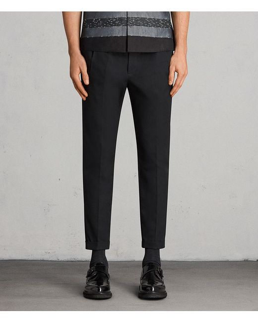 AllSaints - Black Tallis Pant Usa Usa for Men - Lyst