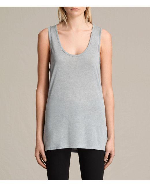 AllSaints | Gray Malin Silk Vest | Lyst