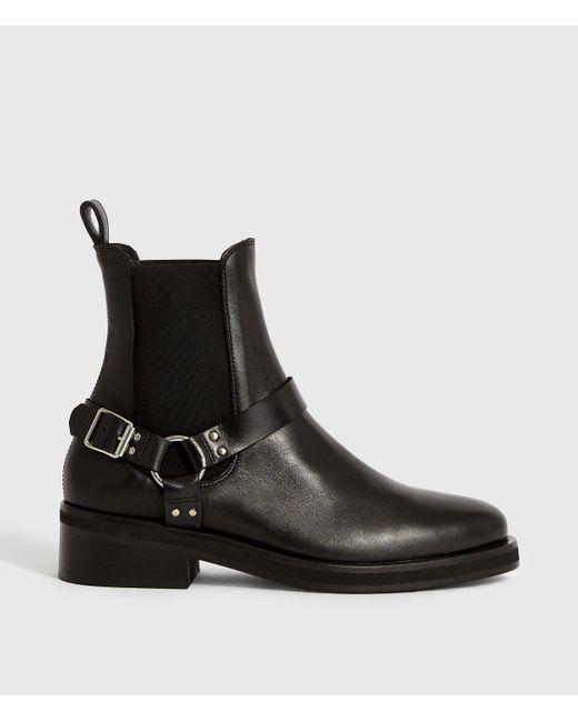 AllSaints Black Salome Boot
