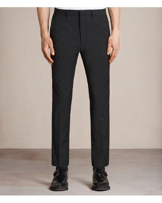 AllSaints | Black Kente Trouser for Men | Lyst