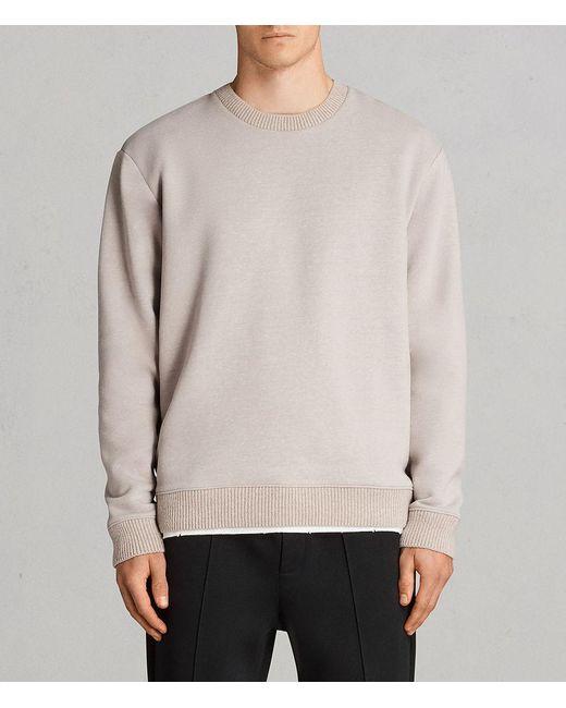 AllSaints - Multicolor Elders Crew Sweatshirt for Men - Lyst