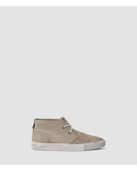 AllSaints | Gray Summit Short Boot for Men | Lyst