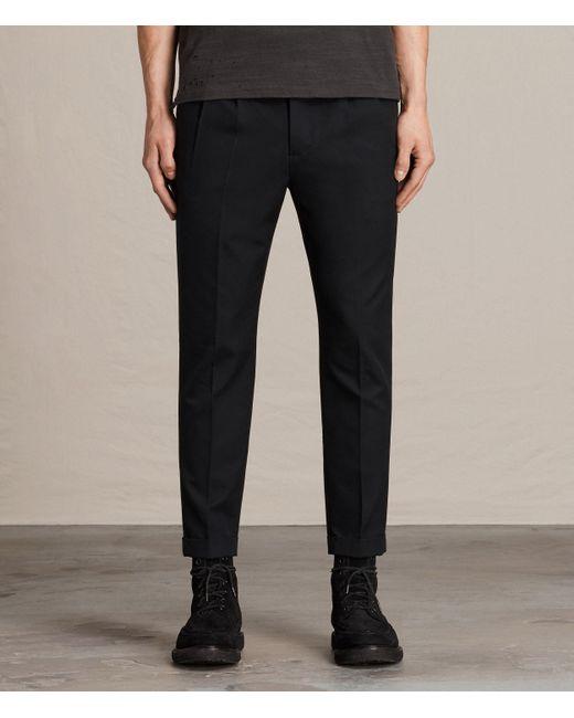AllSaints | Black Tallis Pant Usa Usa for Men | Lyst