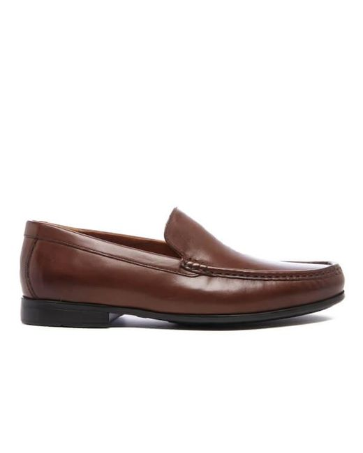 Clarks | Brown Tilden Free Slip-on Loafer - Wide Width Available for Men | Lyst