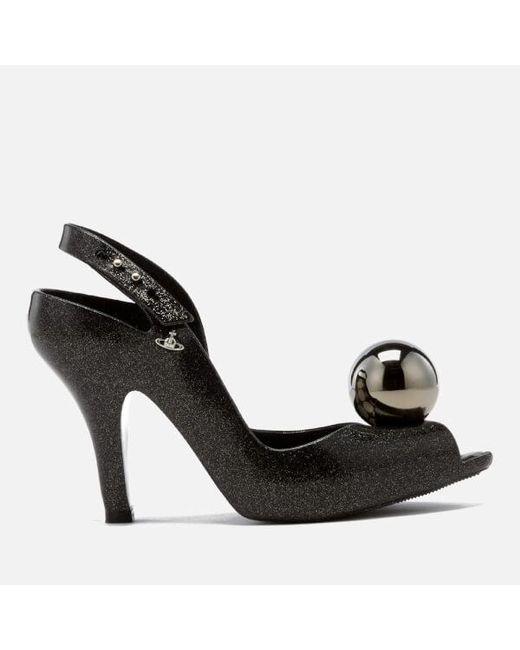 Melissa + Vivienne Westwood Anglomania | Black Women's Lady Dragon 18 Heeled Sandals | Lyst