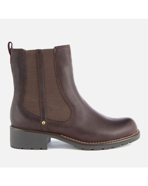 Clarks | Brown Women's Orinoco Club Leather Chelsea Boots | Lyst