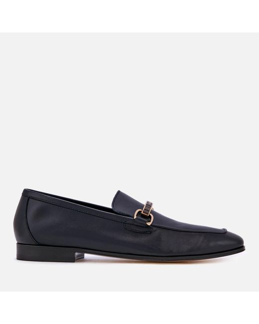 Paul Smith - Blue Grover Leather Loafers - Lyst