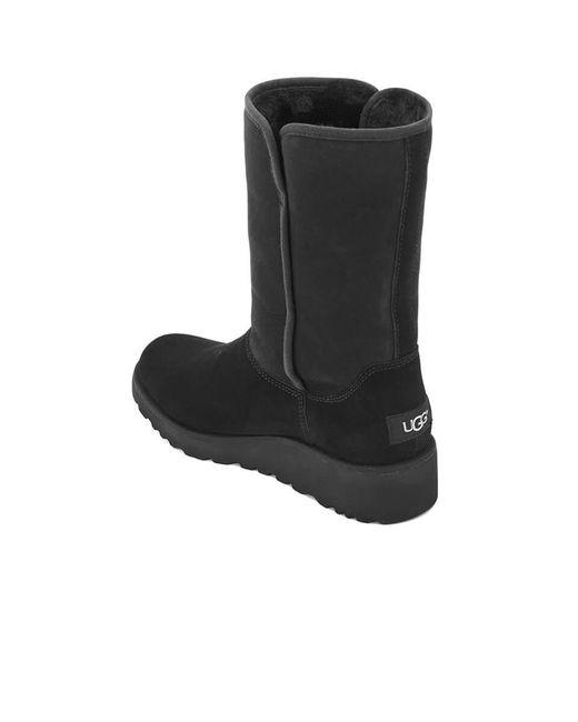 2c631d7b0c50 Lyst - UGG Women s Amie Classic Slim Sheepskin Boots in Black