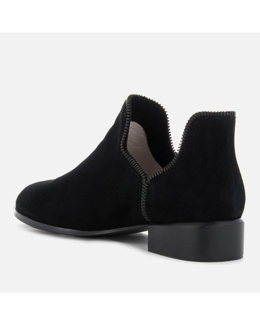 SENSO Women's Bailey VIII Suede Ankle Boots - Ebony/ Zip - UK 5 fEp58qj