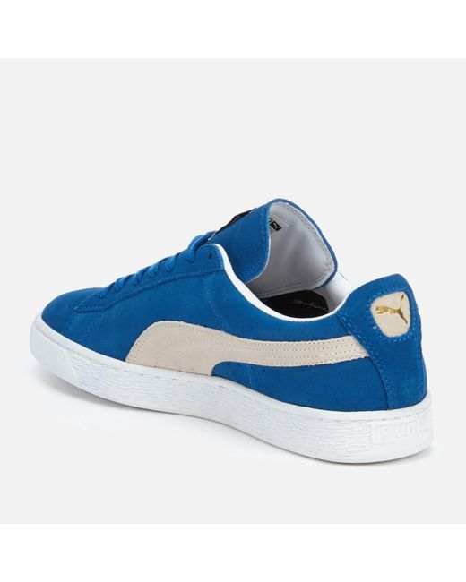 be7448d9be4 ... PUMA - Blue Suede Classic + Trainers for Men - Lyst ...