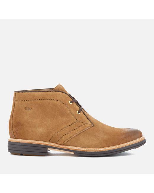 Ugg - Brown Men's Dagmann Suede Desert Boots for Men ...