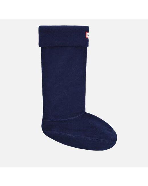 Hunter | Blue Unisex Fleece Welly Socks | Lyst