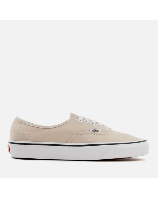 6c9119cabe Vans - Natural Authentic Trainers for Men - Lyst ...