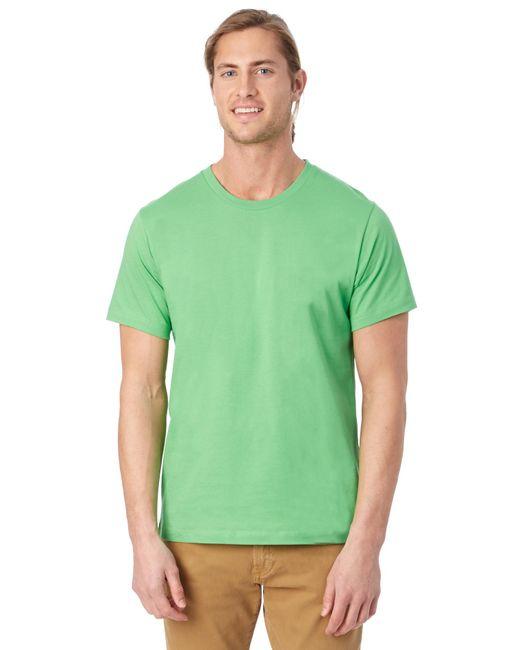 Alternative Apparel | Green Basic Mens Crew T-shirt for Men | Lyst