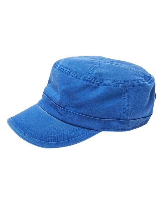 Alternative Apparel - Blue Fidel Cap W/cross Stitch Top for Men - Lyst