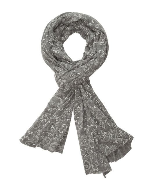 Alternative Apparel | Gray Printed Oversized Bundle Up Scarf | Lyst