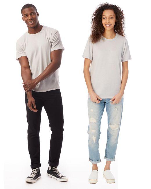 Alternative Apparel - Metallic Keeper Vintage Jersey Crew T-shirt for Men - Lyst