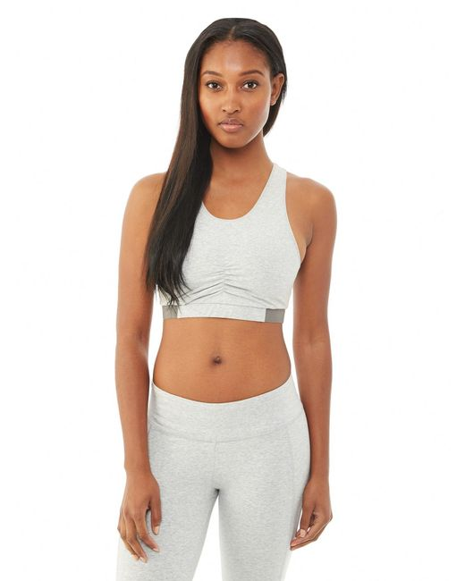 Alternative Apparel | Gray Peekaboo Stretch Bra | Lyst