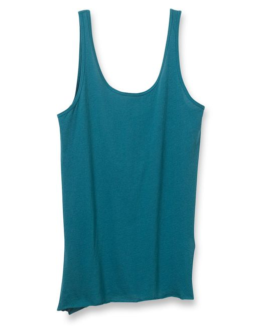 Alternative Apparel | Blue Side Kick Tissue Slub Tank Top | Lyst