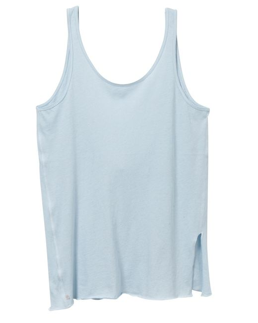 Alternative Apparel | Blue Side Kick Tissue Slub Tank Top | Lyst