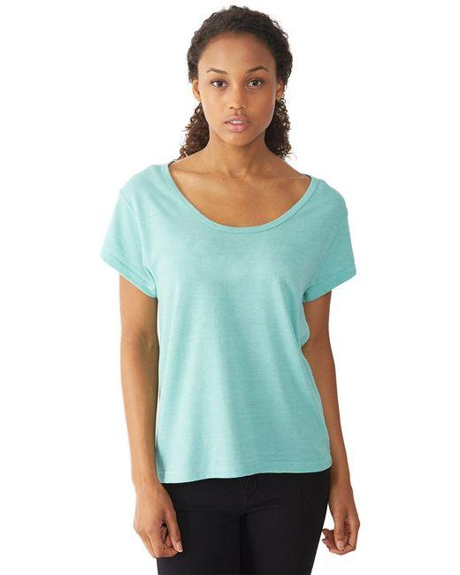 Alternative Apparel | Blue Dreamer Eco-jersey T-shirt | Lyst