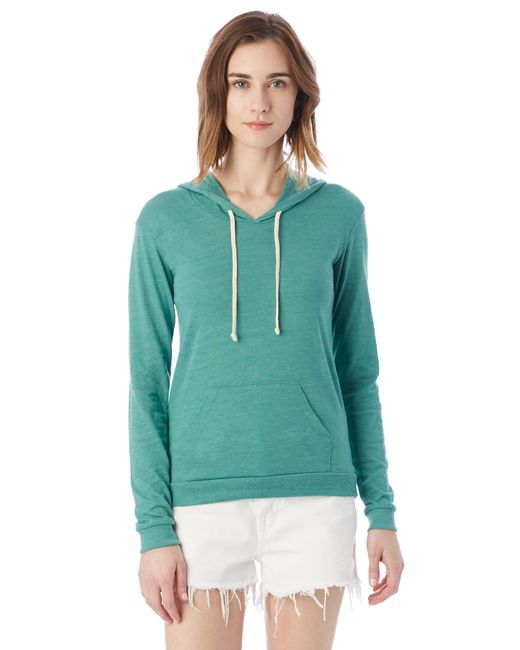 Alternative Apparel - Green Classic Eco-jersey Pullover Hoodie - Lyst