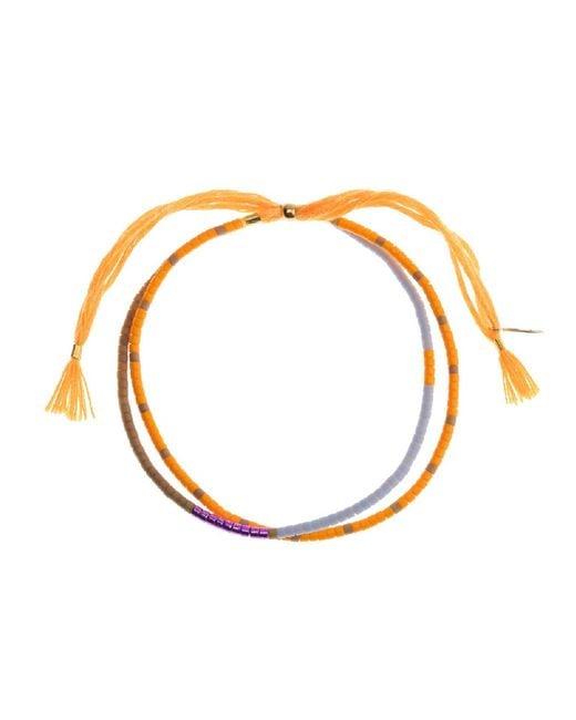 Alternative Apparel - Orange Shashi Carlita Bracelet - Lyst