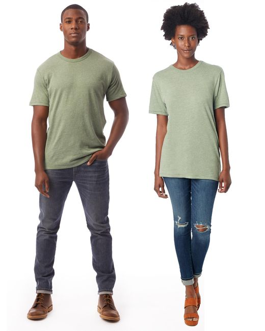 Alternative Apparel - Multicolor Keeper Vintage Jersey Crew T-shirt for Men - Lyst