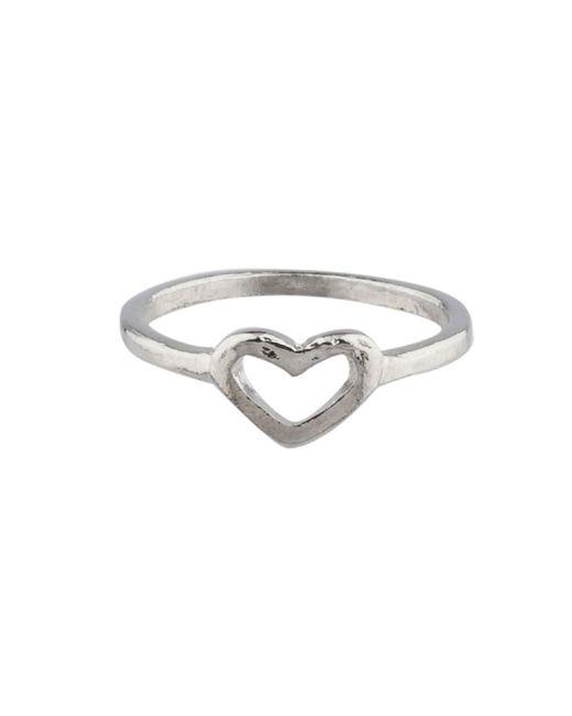 Alternative Apparel - Metallic Shashi Heart Ring - Lyst