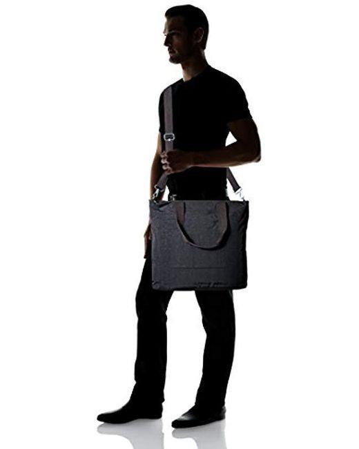 b9d7b02abe6 Kipling Lizzie Solid Travel Laptop Tote Shoulder Bag in Black - Save ...