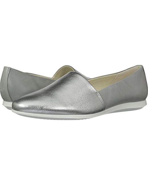 Ecco - Metallic Touch Ballerina 2.0 Ballet Flat - Lyst