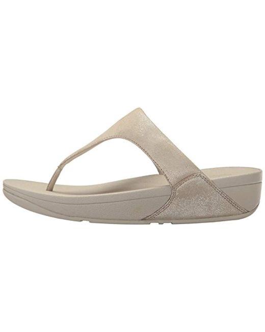 321d0121378 ... Fitflop - Multicolor Shimmy Suede Toe-thong Sandals Flip-flop - Lyst ...