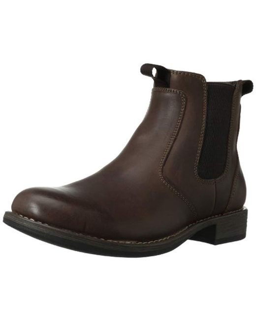 Eastland - Brown Men's Daily Double Chelsea Boots for Men - Lyst