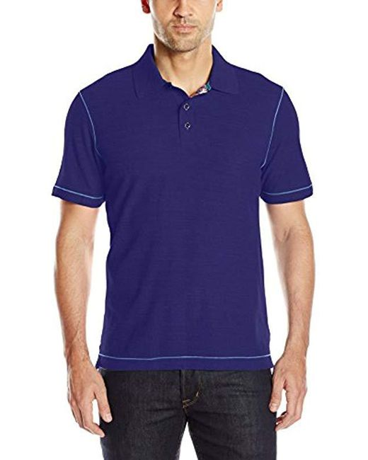 Robert Graham - Blue Messenger for Men - Lyst