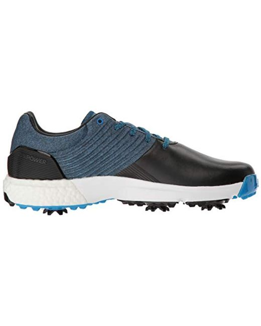 brand new 54102 3fad7 ... Adidas - Blue Adipower 4orged Golf Shoe for Men - Lyst ...