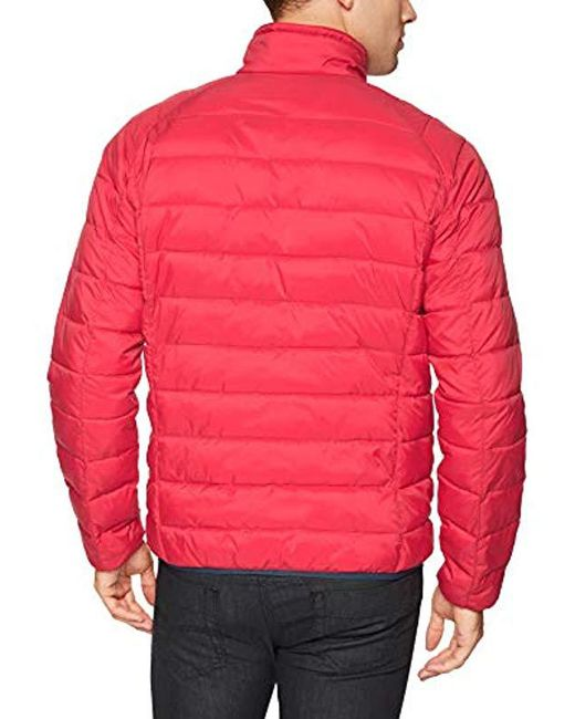 Lyst - Starter Water Resistant Packable Puffer Jacket ...