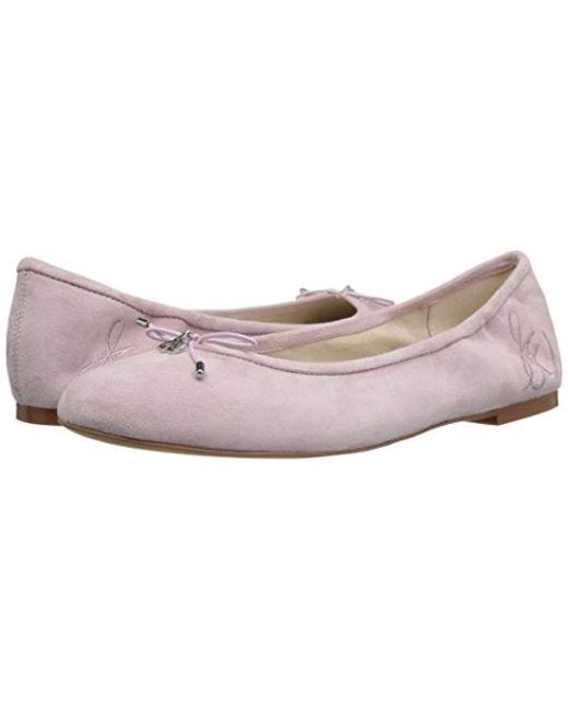af43bb57e64ea7 Lyst - Sam Edelman Felicia Ballet Flat in Pink - Save 22%