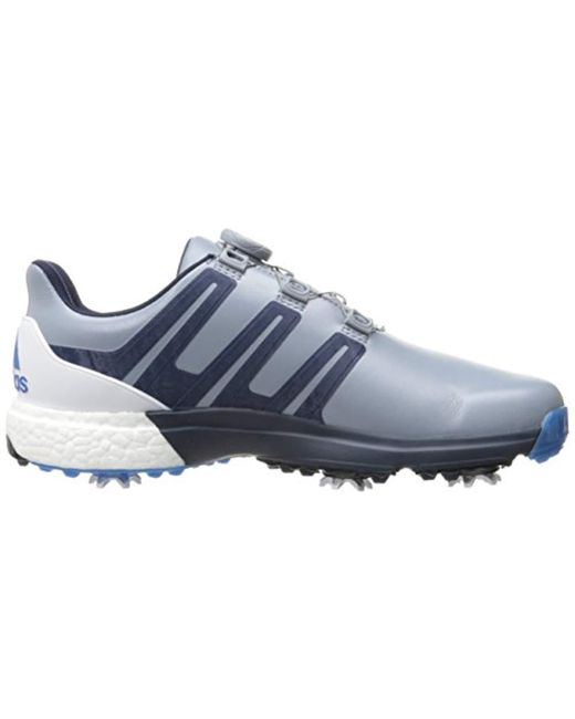 Adidas Powerband BOA Boost Golf Shoes WhtBlkEQT Yellow
