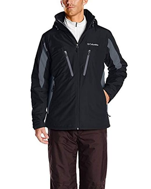 Columbia - Black Antimony Iv Jacket for Men - Lyst